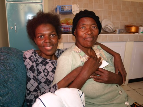 Now, Khulelaphi is grinning broadly and looks the picture of health. But she tells me that not so long ago, she could no longer cope with her illness.