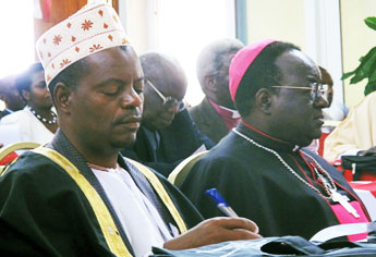 Archbishop Cyprian Lwanga of Kampla, President of Caritas Africa convenes the Conference on Sustainable Reconciliation, Justice and Peace