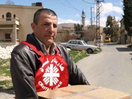 Caritas lebanon volunteer