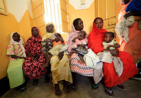 HIV and AIDS programme in Darfur for pregnant women and new mothers.  Credit: Mohammed Noureldin/ACT Caritas