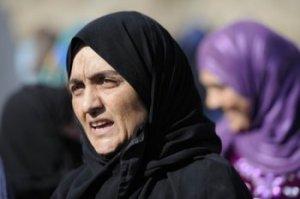 Hoda, 35 ans, enseignait l'anglais à Homs. Copyright: Secours Catholique/Patrick Delapierre