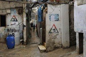 Près de 20 000 réfugiés occupent le camp palestinien de Bourj el-Barajneh, au sud de Beyrouth. Copyright: Secours Catholique/Patrick Delapierre