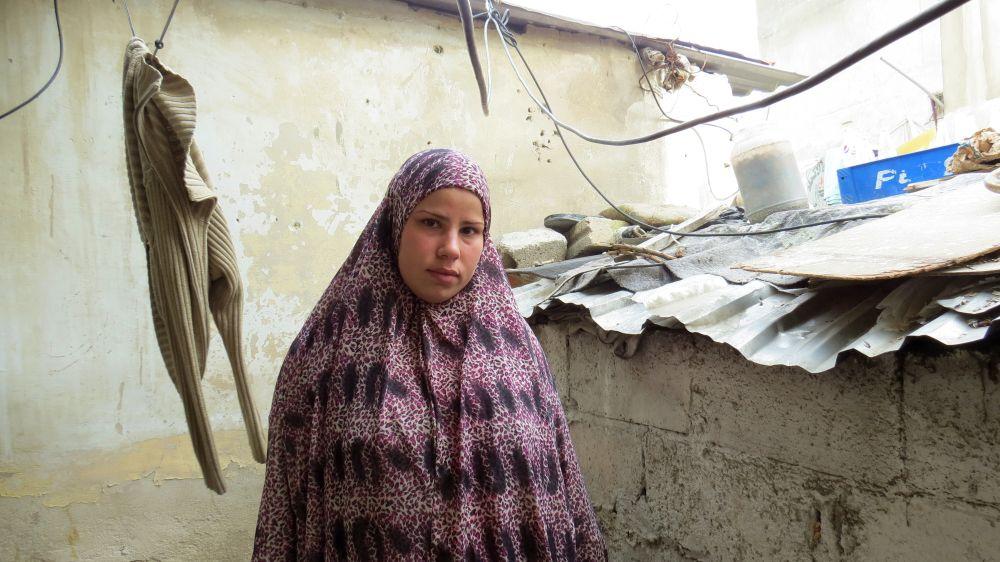 Rosan Kurdi at home.