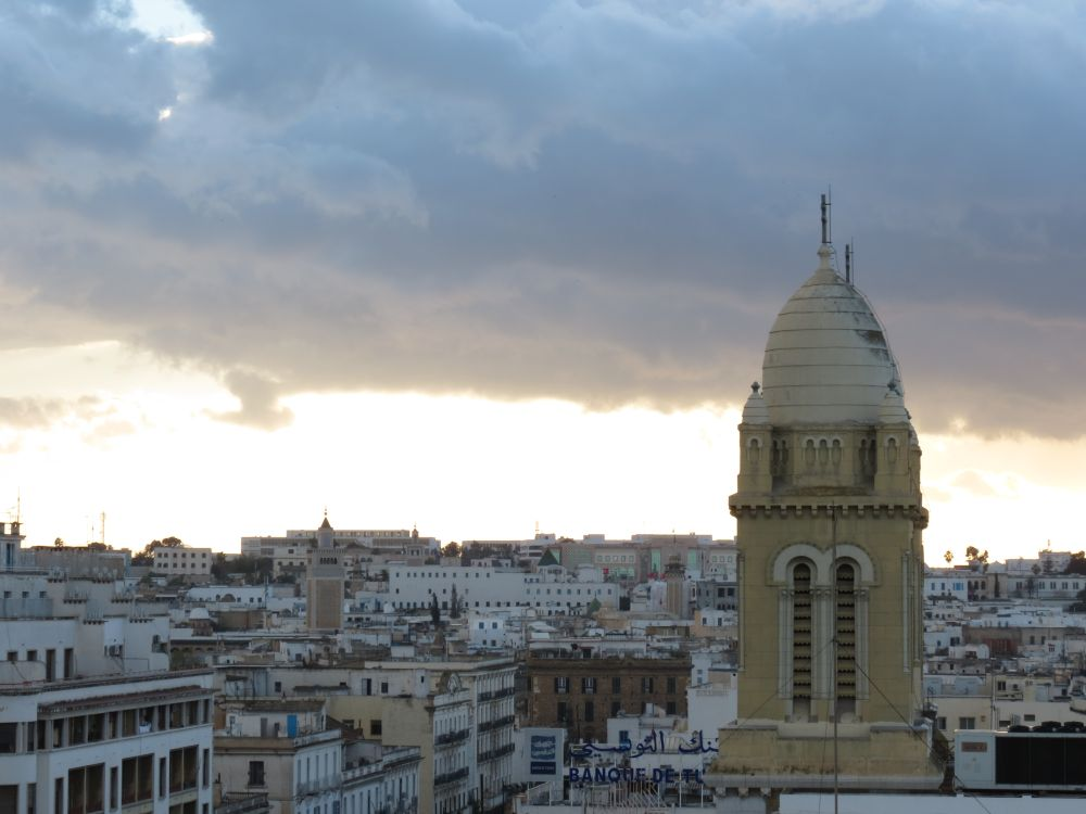 Tunis, home to the World Social Forum in 2013