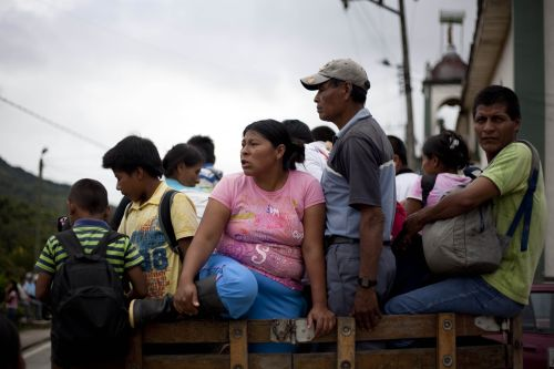 3.8 million Colombians have been forced from their homes. Credit: Caritas Colombia