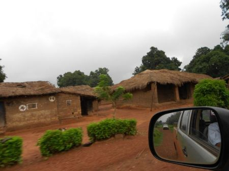 A fact finding mission found villages empty. Credit: Fr Aurelio