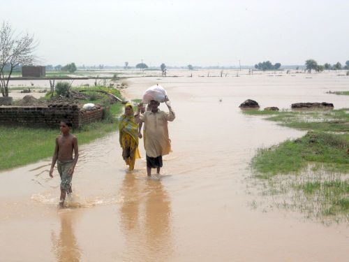 Flooding in Pakistan has caused widespread devastation for the third year in a row. Credit: Caritas Pakistan